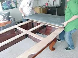 Pool table moves in Frederick Maryland
