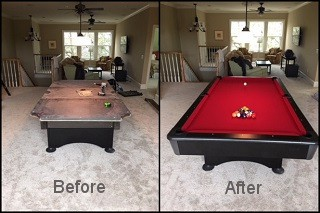 expert pool table repair service in Frederick content image3